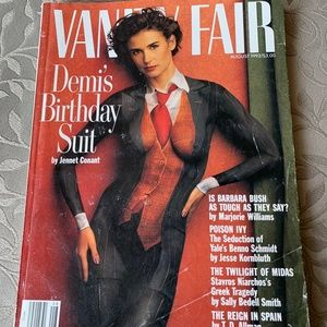 Other - 🔥🔥Demi Moore, August 1992, Vanity Fair! EUC!